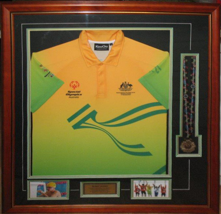 Swimming Medal shirt 001